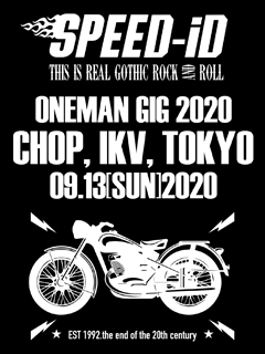 2020.09.13 SPEED-iD ONEMAN GIG
